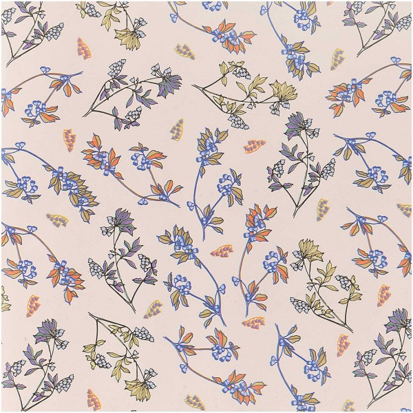 FSC wildflower wrapping paper