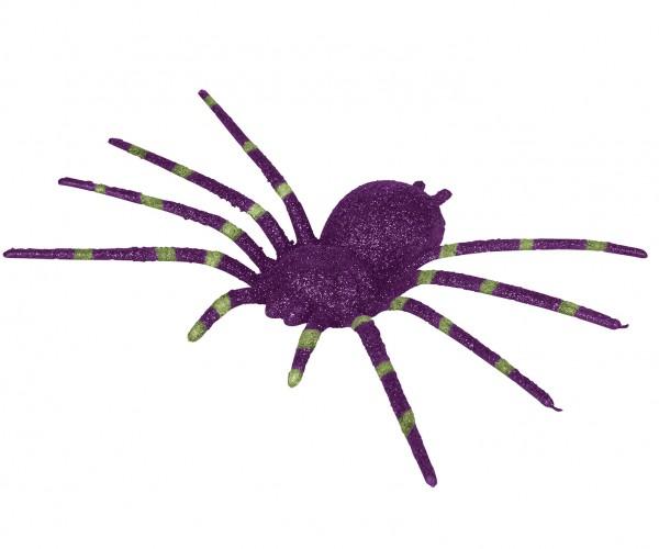 50 Stk leuchtende Spinnen aus Plastik Streudeko Party Deko Halloween Konfetti