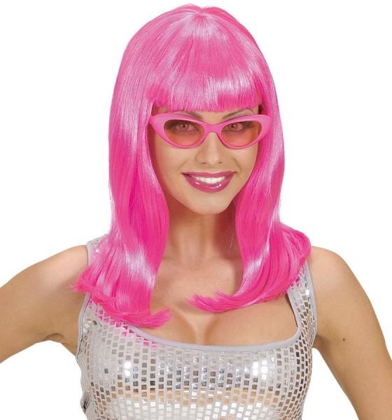 Neon Pinke Perücke Nina