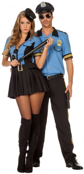 Polizistin Pippa Damenkostüm