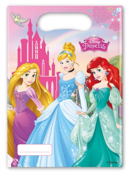 6 Disney Prinzessinnen Enchanted Moments Geschenktüten