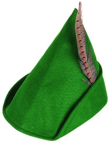 Chapeau de chasse Robin Hood