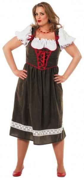 Angenehm Weites Dirndl Kostüm Berta