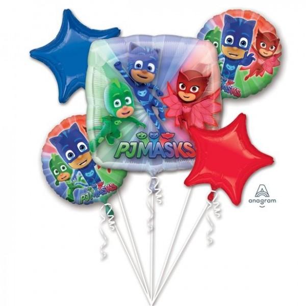 PJ Masks Folienballon-Bouquet 5-teilig
