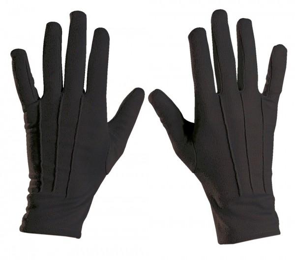 Klassische Schwarze Handschuhe