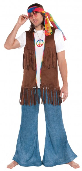 Fringed vest for men