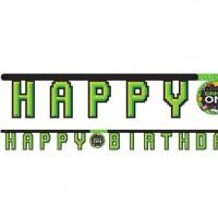Level Up Birthday Girlande 2,18m