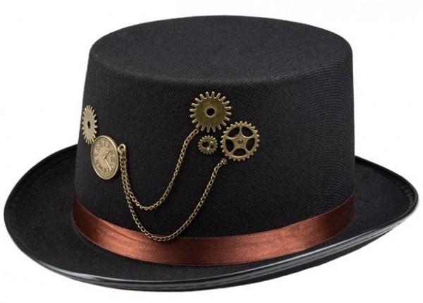 Steampunk hoed Edward