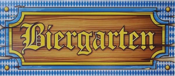 2 tekturowe tabliczki z ogródkiem piwnym Oktoberfest