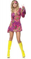 Love & Peace Disco Queen Kostüm