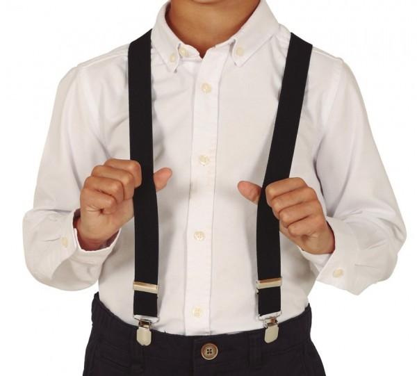 Bretels voor kinderen zwart