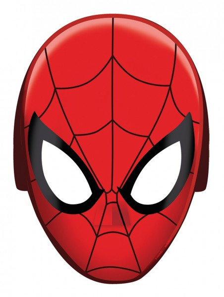 Cool Spiderman Action Hero Mask 8 pièces