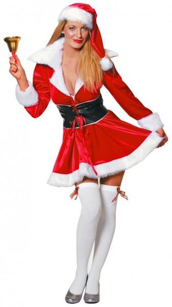 Sexy Christmas lady premium costume