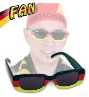 Deutschland Fan Sonnenbrille