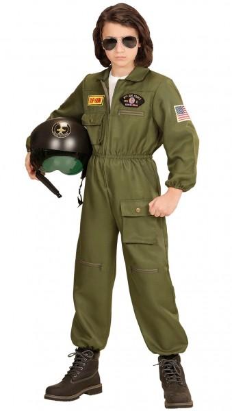 Kampfjet Pilot Maverick Kinderkostüm