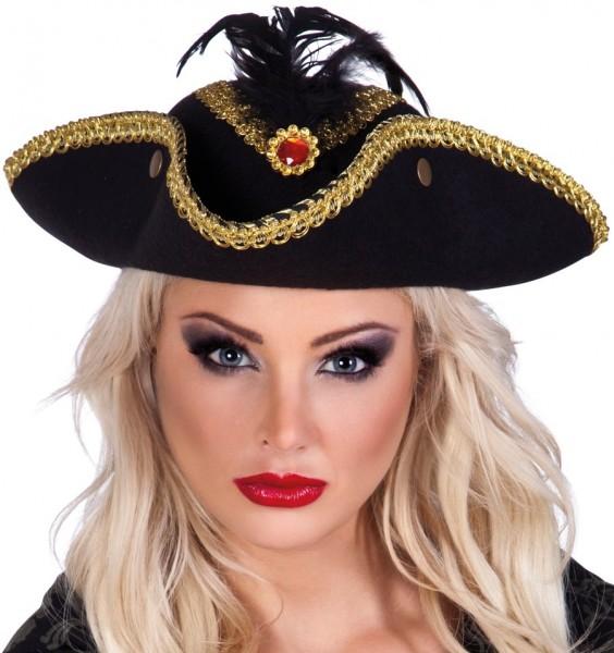 Piraten Admiral Dreispitz Hut