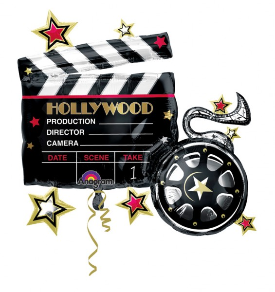 Folienballon Welcome To Hollywood