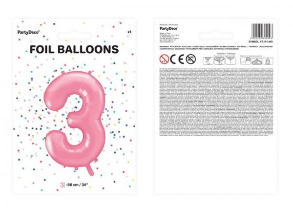 Not helio Balloon folienballon número 0 cumpleaños azul estrella cifras aniversario nuevo