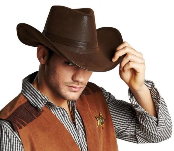 Morris Western Cowboyhut In Lederoptik