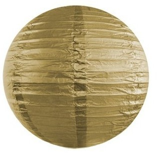 Lampion Lilly gold 20cm