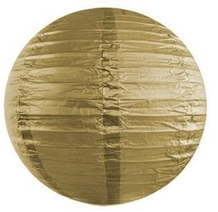 Latarnia Lilly złota 20 cm