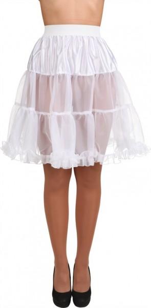 Weißer Petticoat Marie Knielang 1
