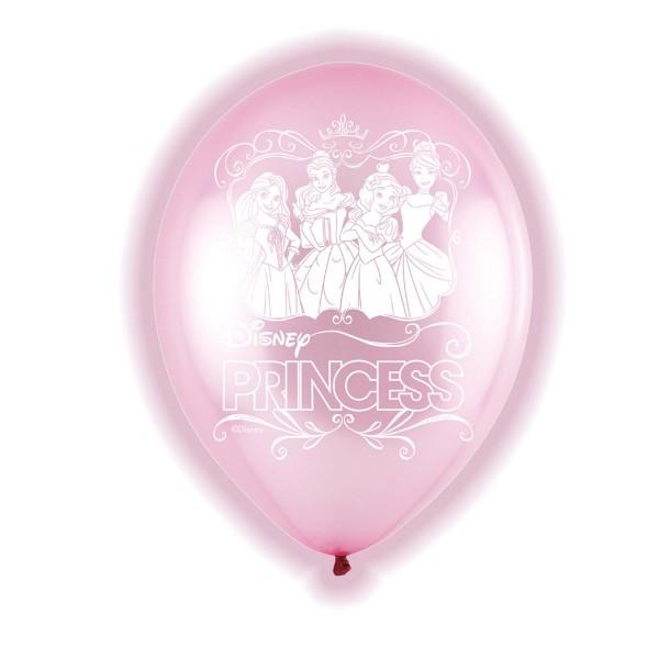 5 LED Disney Princess Ballons 28cm