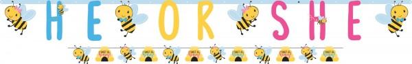 2 Baby Bienen Girlanden