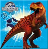20 Jurassic World Dinos Quadratische Serviette 33cm