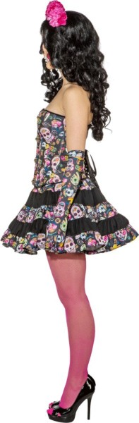 Skull corset Agostina for women