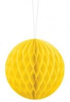 Wabenball Lumina gelb 10cm