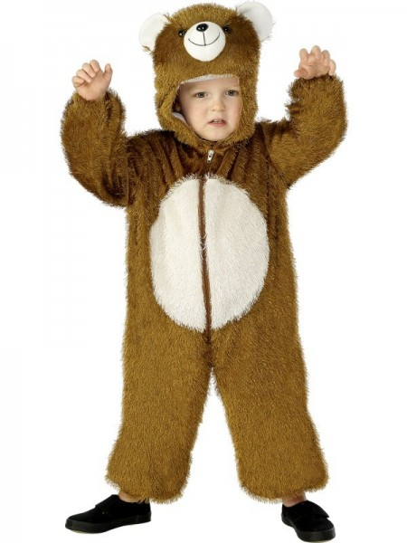 Fluffy grizzly jumpsuit voor peuters