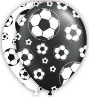 8 Latexballons Fußball-Traum