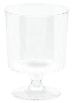 10 mini gobelets transparents 147ml