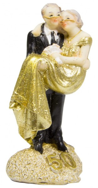 Dekofigur Traumpaar Goldene Hochzeit