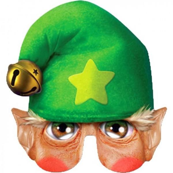 Witzige Elfen Pappmaske