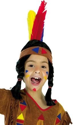 Stirnband Indianer Mit Federn