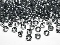 100 Streudeko Diamanten anthrazit 1,2cm