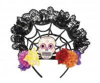 Haarkrone Tag Der Toten Spinnennetz