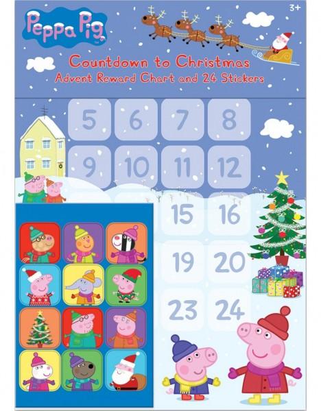 Weihnachtsbelohnungskalender Peppa Pig