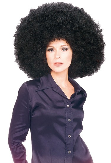 Grande parrucca afro
