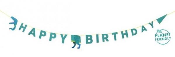 Dino Herde Birthday Girlande 3,5m