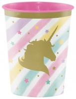 Golden Unicorn Kunststoffbecher 454ml