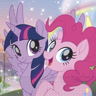 20 Magische Servietten Pony und Freunde 33 x 33cm 1