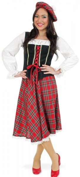 Scottish traditional costume for women