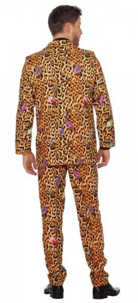 Leoparden Partyanzug für Herren deluxe