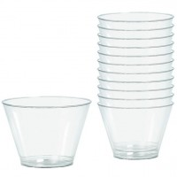 20 Kunststoff Gläser Party Treasures 255ml