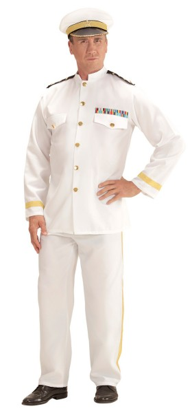 Navy Kapität men's costume white