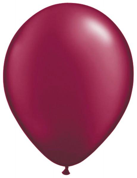 10 Ballons Classic Bordeaux 30cm 1