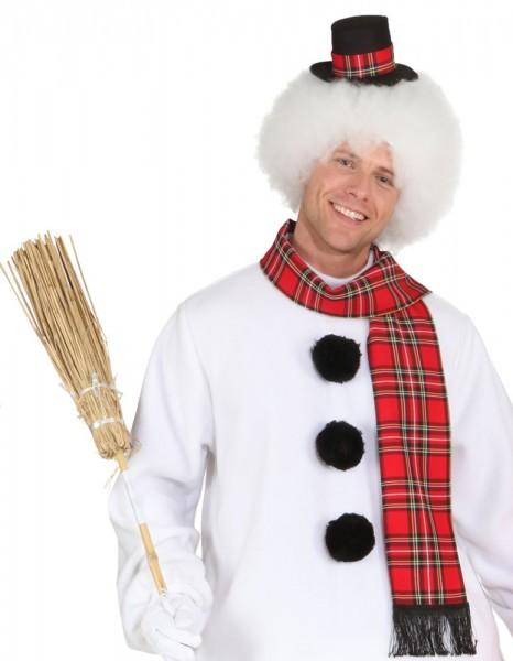2-piece snowman costume accessories set